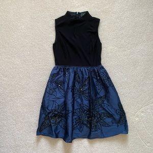 Adrianna Papell Beaded Evening Dress